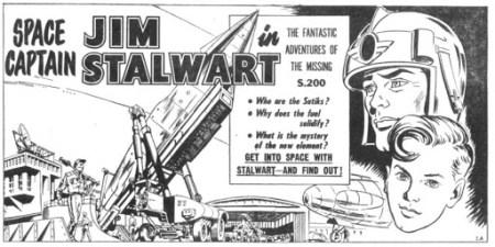 Space Captain Jim Stalwart