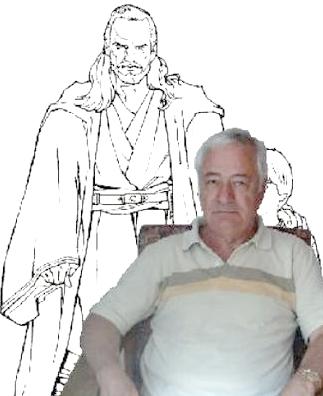 Artist Jesus Redondo in 2004