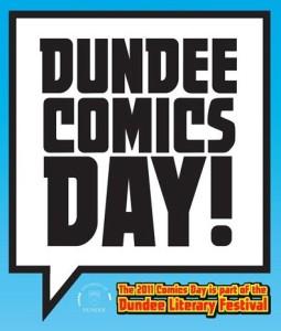 Dundee Comics Day 2011 Logo