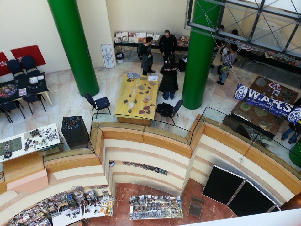 Inside the Malta Comic Convention at St James Cavalier in Valletta. Photo courtesy Malta Comic Con