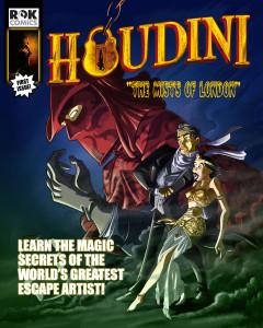 "ROK Comics digital audio comic title ""Houdini Adventures"""