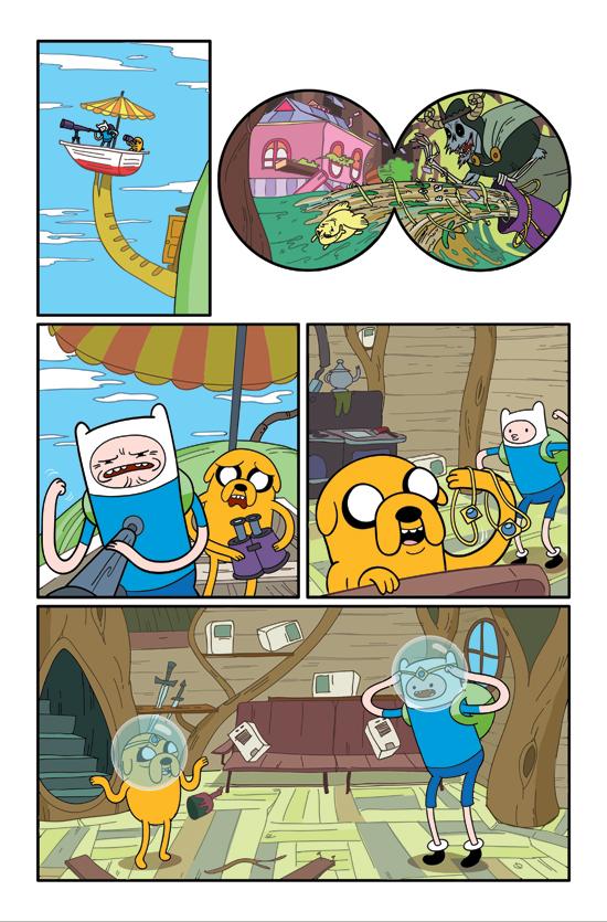 Adventure Time art by Braden Lamb
