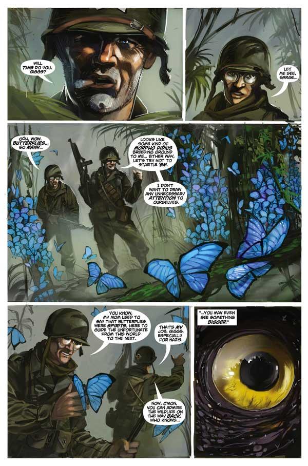 Chronos Commandos Issue 1 Page 1