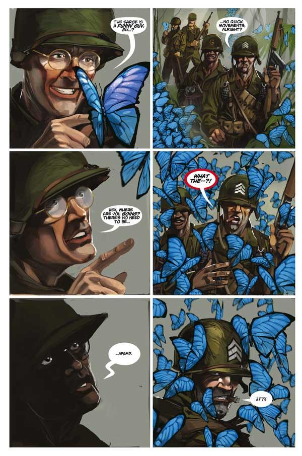 Chronos Comandos Issue 1 Page 2