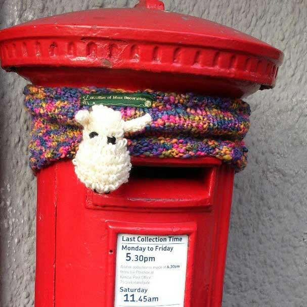 Knitting fun in Kendal in 2012... Photo: http://instagram.com/p/Qw9J1rRZk8/
