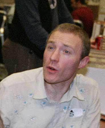 Comic artist John McCrea