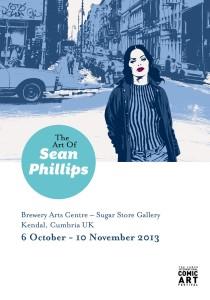 Sean Phillips Exhibition Poster