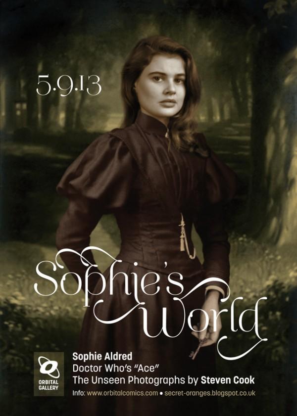 Sophie's World flyer by Steven Cook
