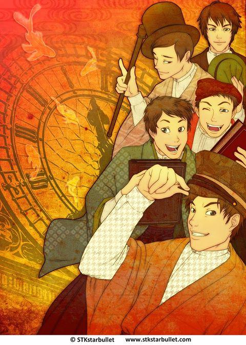 Manga Jiman 2013 Competition art