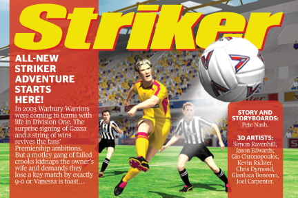 Striker App Intro Panel