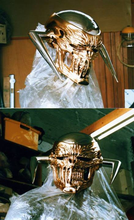 Death's Head II mask. Images via Tim Quinn
