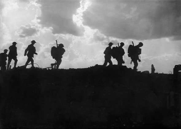 Image from the Third Battle of Ypres, 5th September 1917. Courtesy Imperial War Museums
