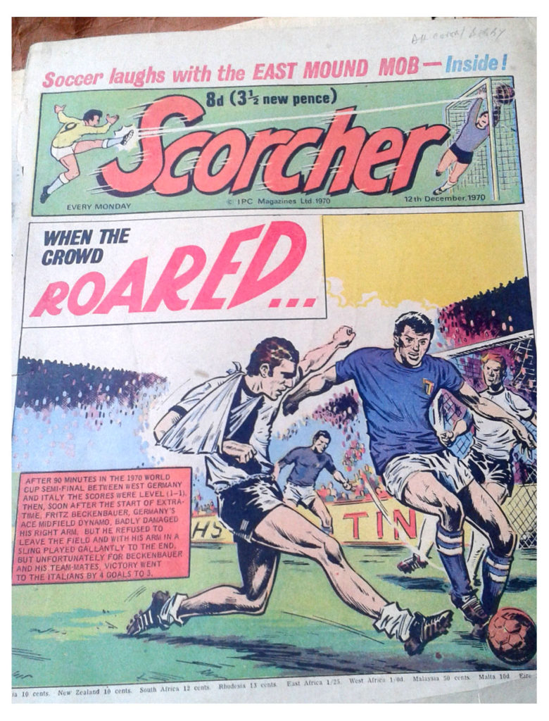Cover for Scorcher, cover dated 12th December 1970