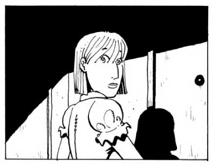 A panel from Unfinished City.
