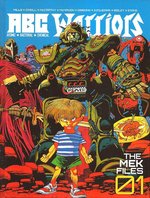 ABC Warriors: Mek Files 01 - Cover