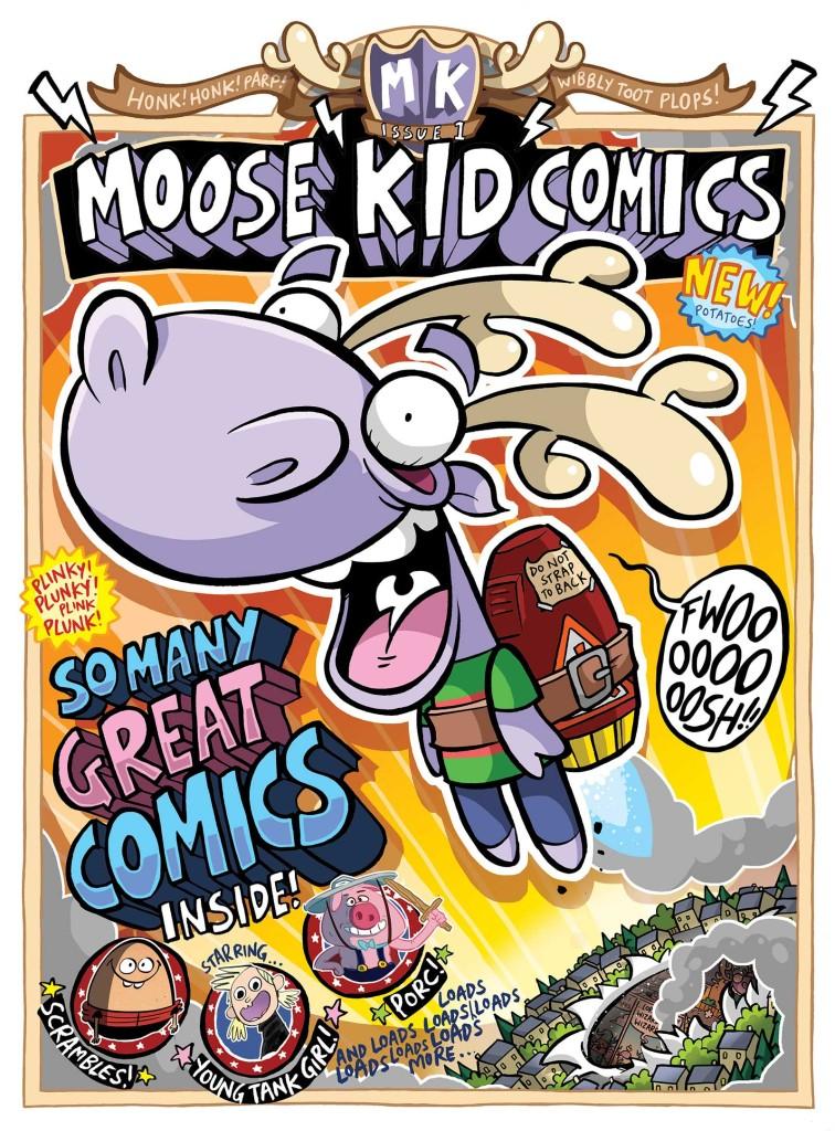 Moose Kid Comics #1 - Cover
