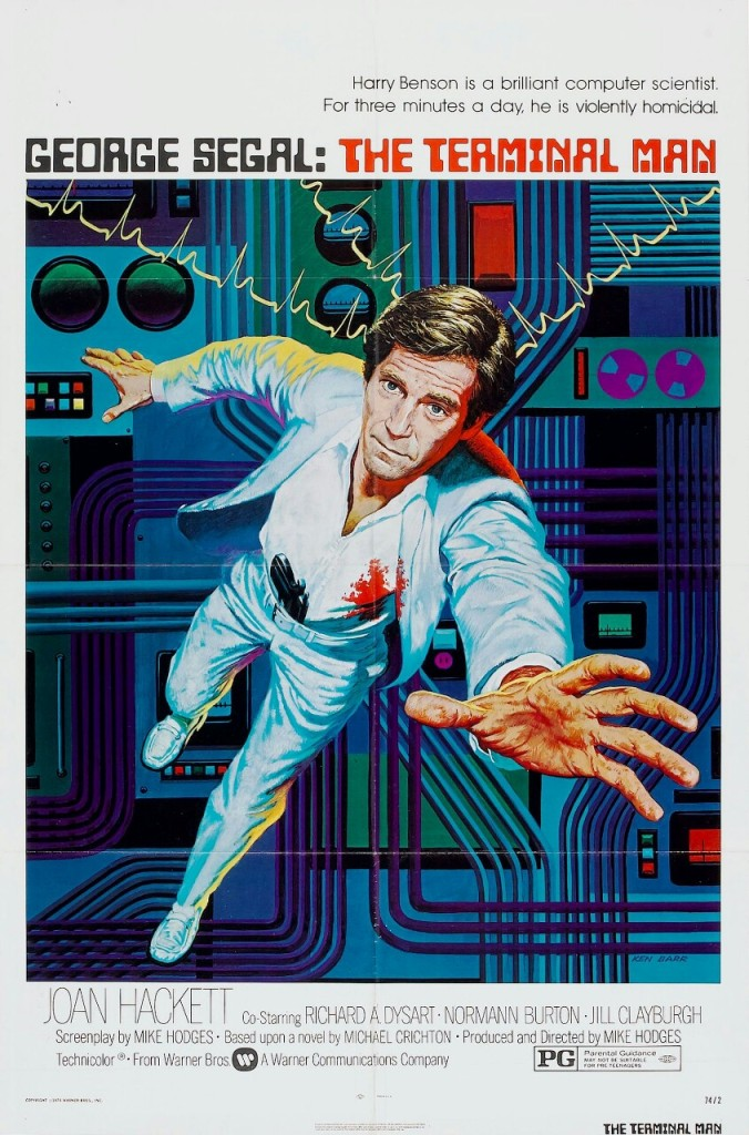 Ken Barr's Terminal Man film poster