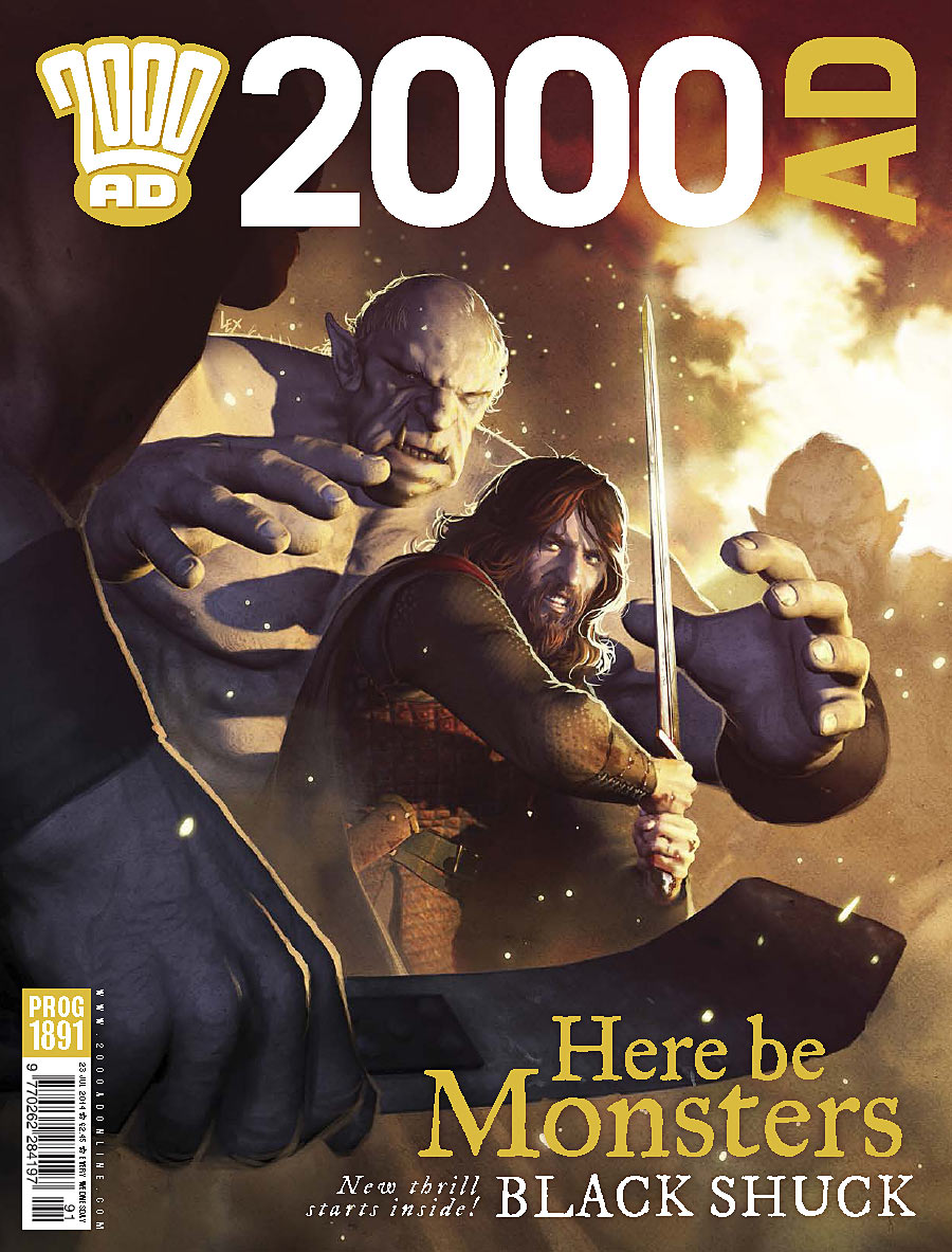 2000AD Issue 1891 - Cover