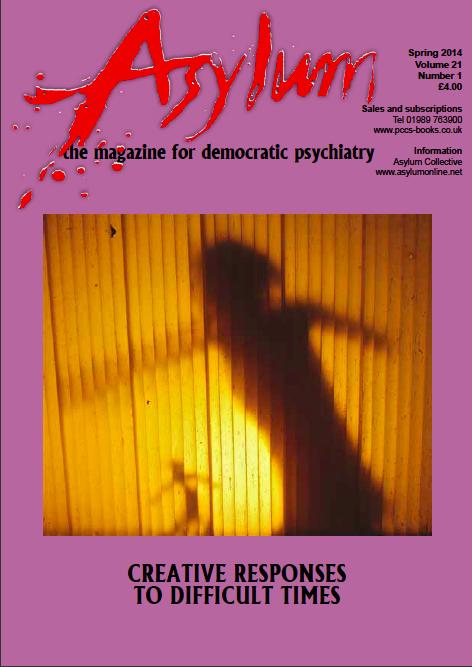 The Spring 2014 issue of Asylum magazine