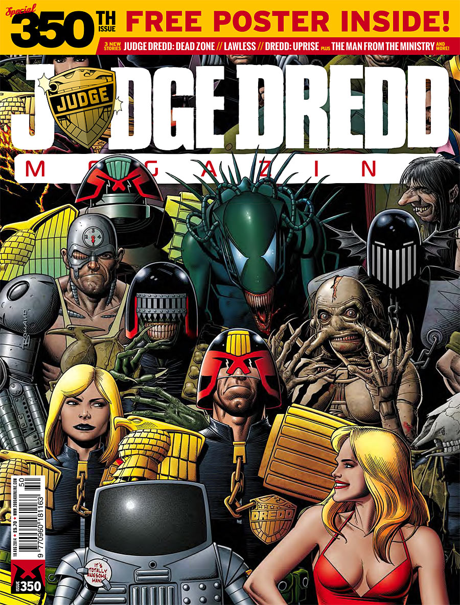 Judge Dredd Megazine 350