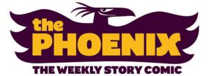The Phoenix Comic Logo