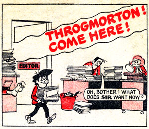 """A panel from """"The Sparky People"""" from Sparky. Art © DC Thomson"""