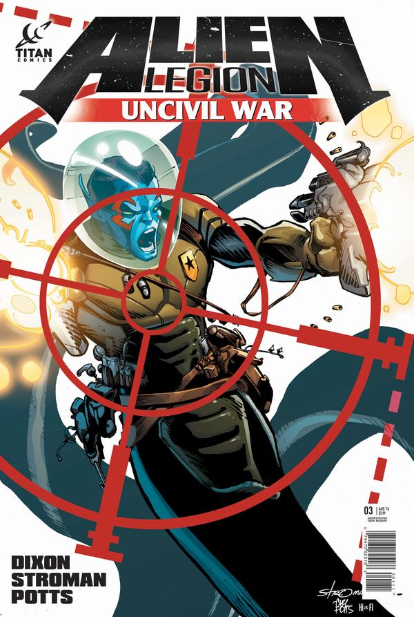 Alien Legion: Uncivil War #3