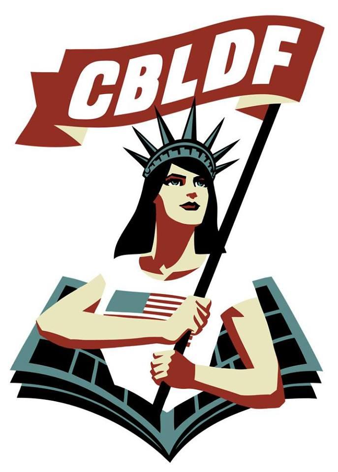 "Comic Book Legal Defense Fun ""Liberty"" Image"