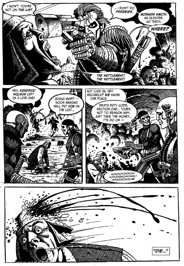 Death Duty Episode One - Page Four