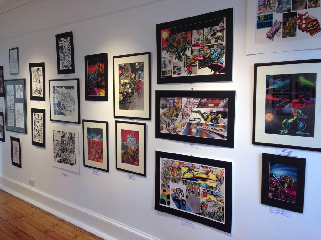 Orkney Comic Art Exhibition - 2014. Photo: Peter Rowe