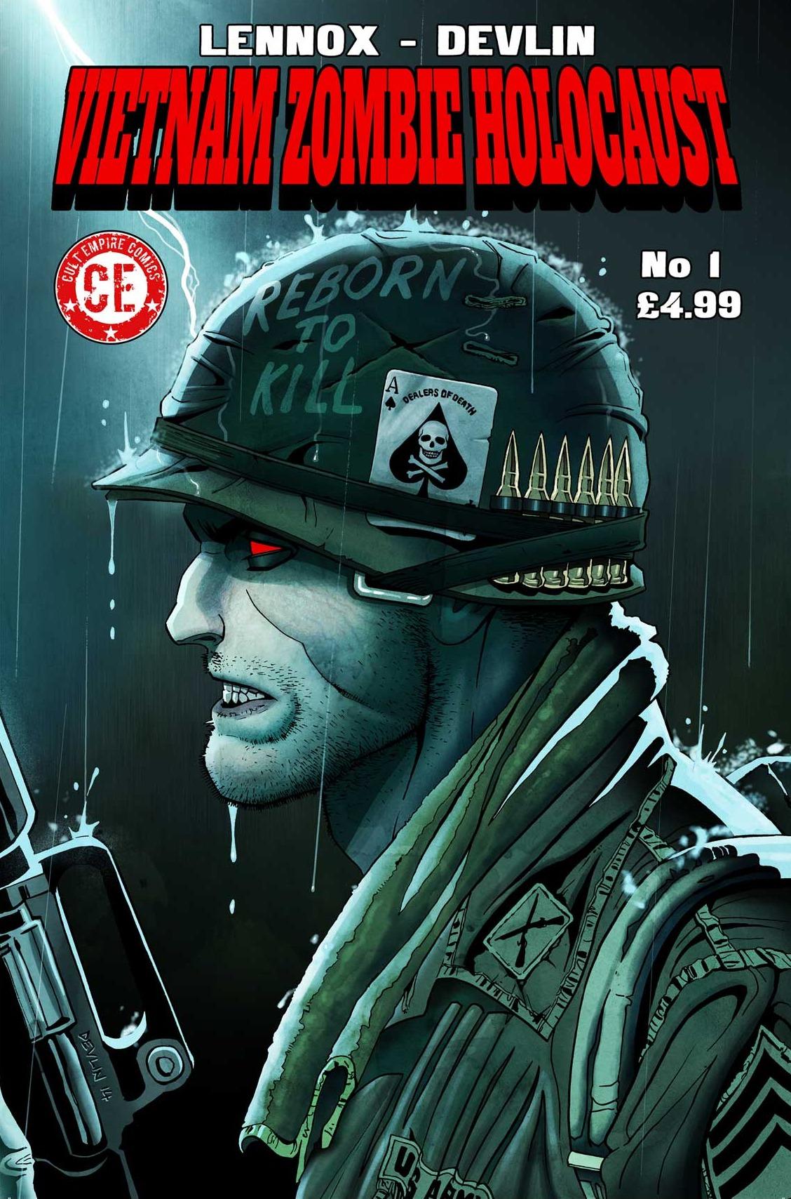 Vietnam Zombie Holocaust #1 Cover