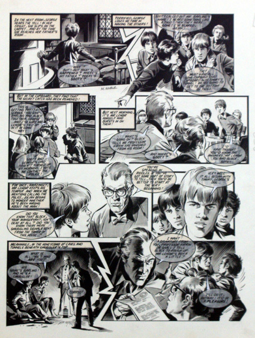 """A page of """"Follyfoot"""" by Mike Noble for Look-In"""