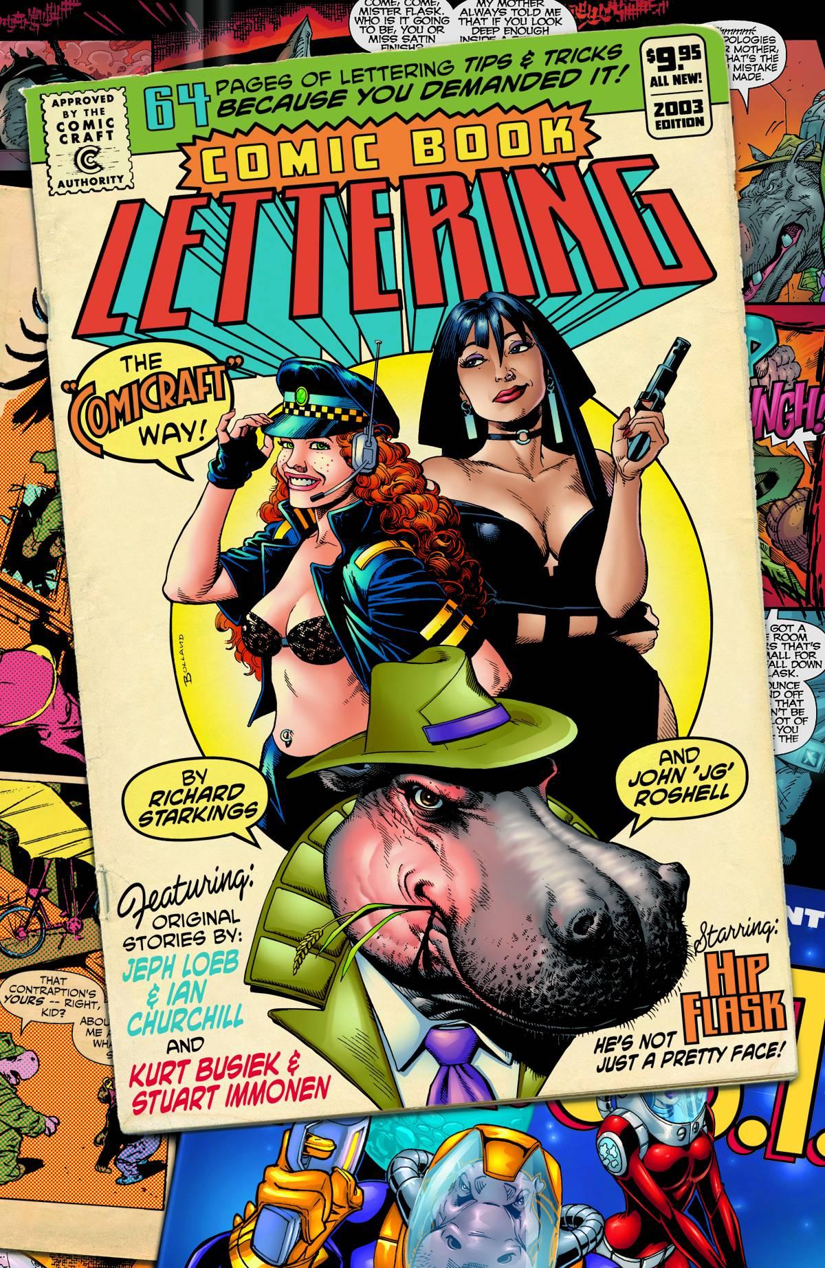 Comic Book Lettering by Richard Starkings and John Roshell