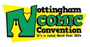 Nottingham Comic Con Logo 2014
