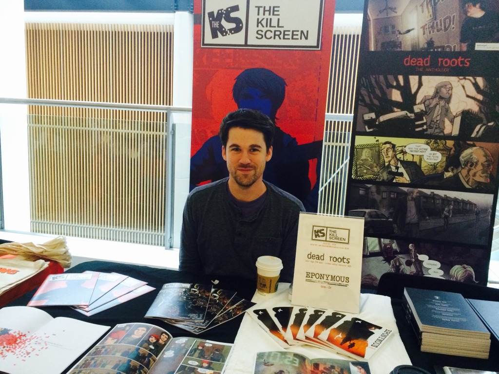 Kill Screen writer Mike Garley at Nottingham Comic Con 2014. Photo: Antony Esmond