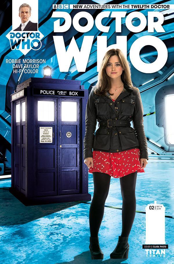 Doctor Who: Twelfth Doctor #2 - Cover C - Clara
