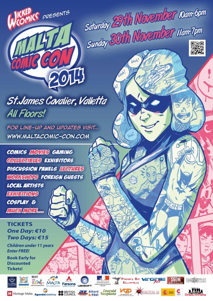Malta-Comic-Con-Poster-2014F