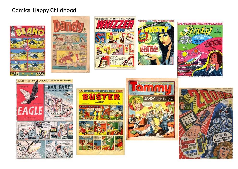 Comics and Literacy Part 1: Vintage Comics