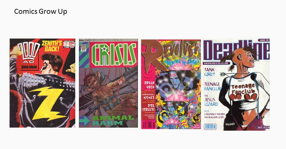 Comics and Literacy Part 1: Comics Leave Home