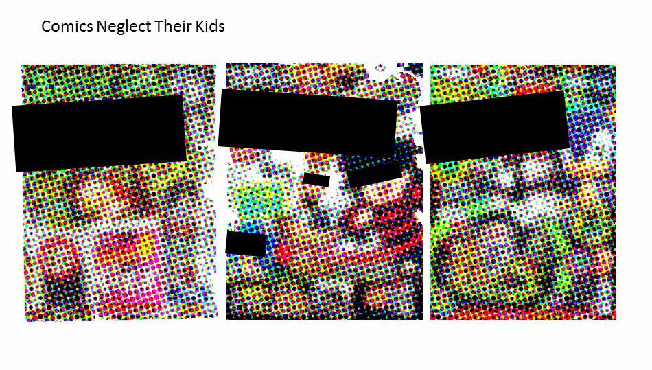 Comics and Literacy Part 1: Comics Neglect Their Kids