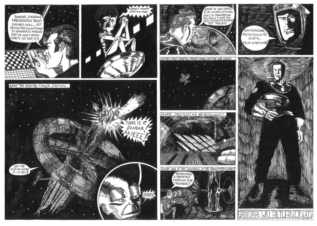 Dan Dare - Journey Through Time by Gavin Aslett:
