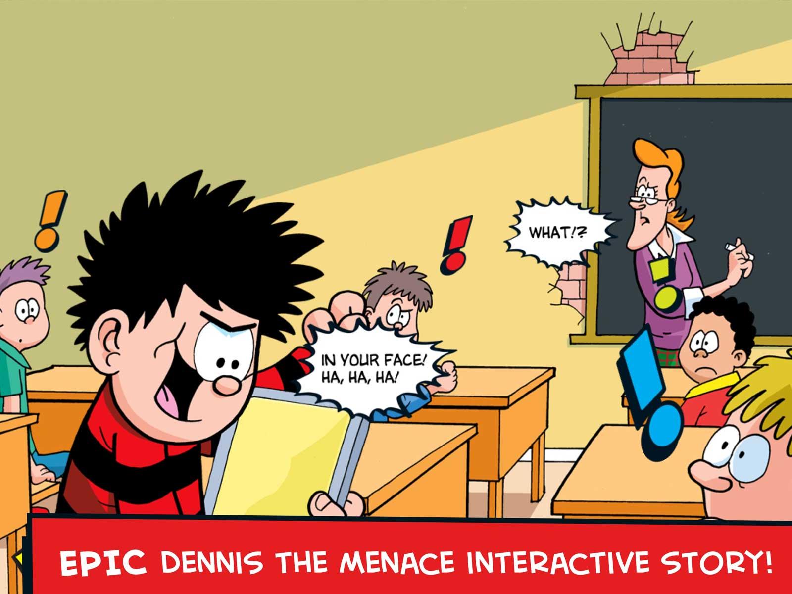 Dennis & Gnasher Adventures App Screenshot 1