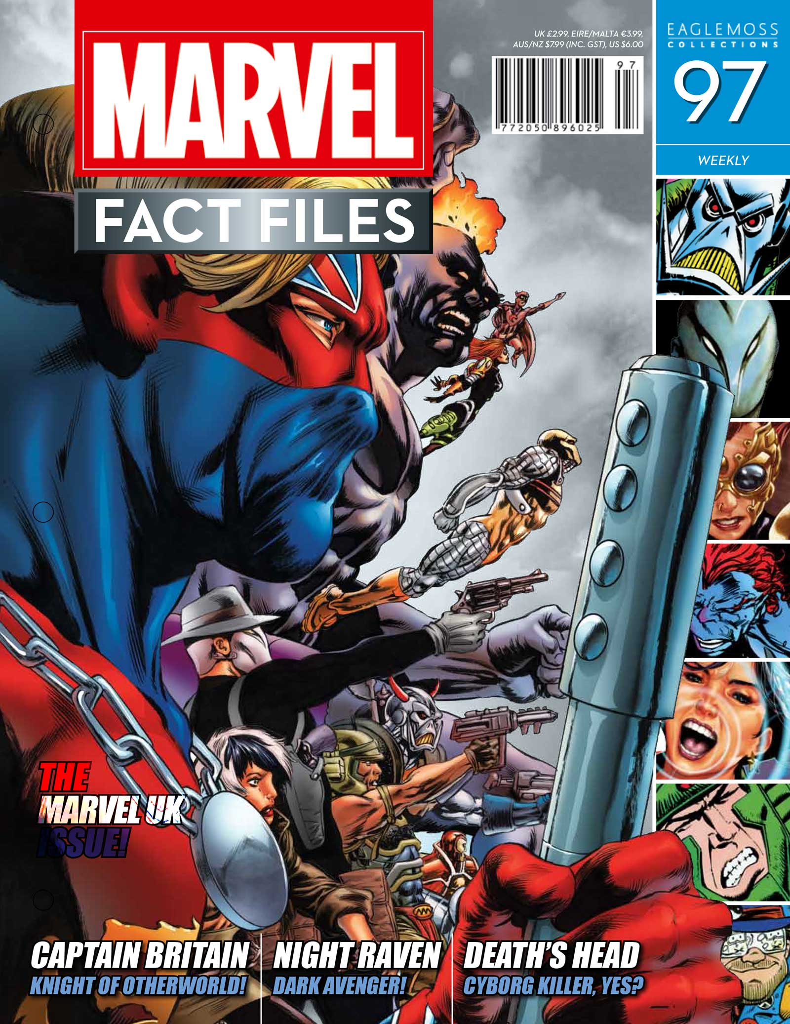 Marvel Fact Files 97 Cover