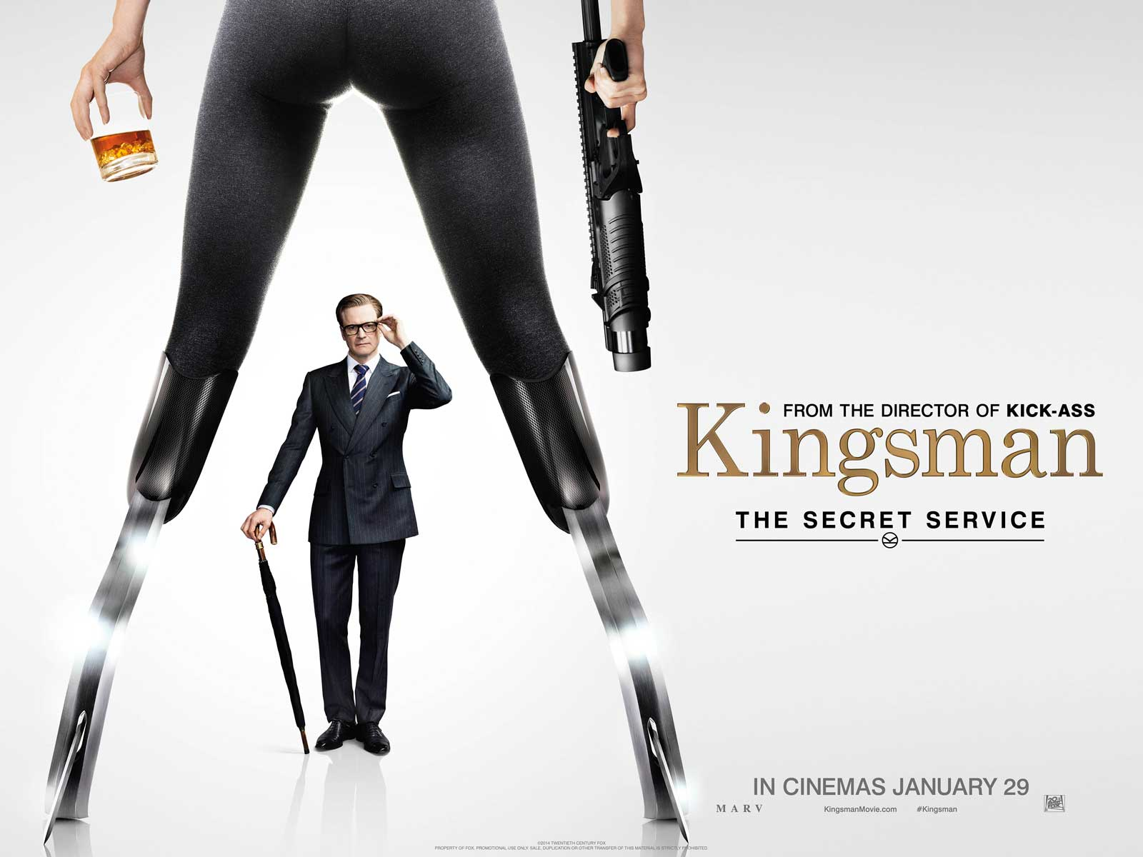 "Kingsman ""Legs"" QUAD Poster"