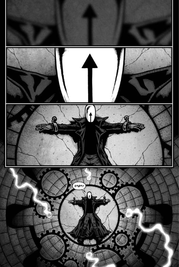 Midnight Man – Sample Page
