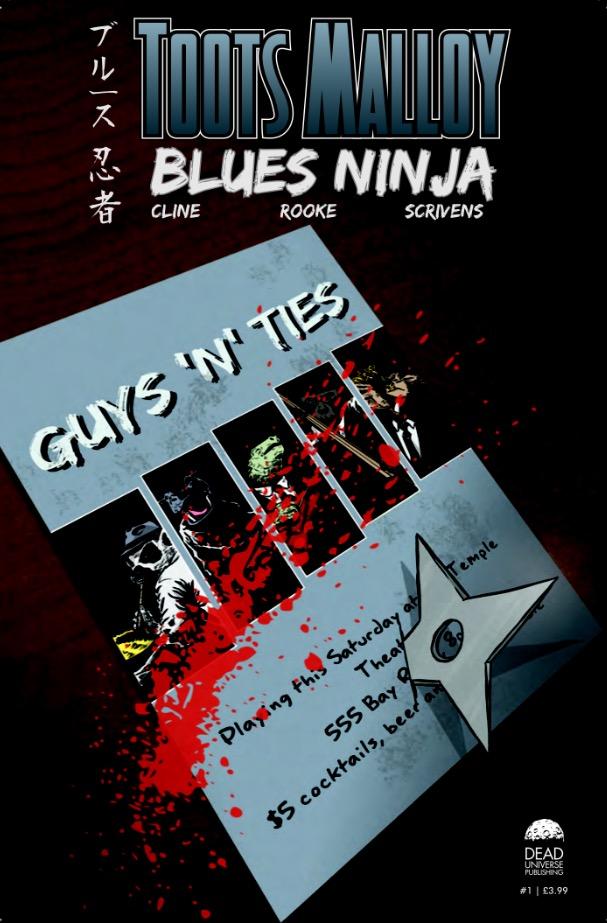 Toots Malloy: Blues Ninja Issue 1