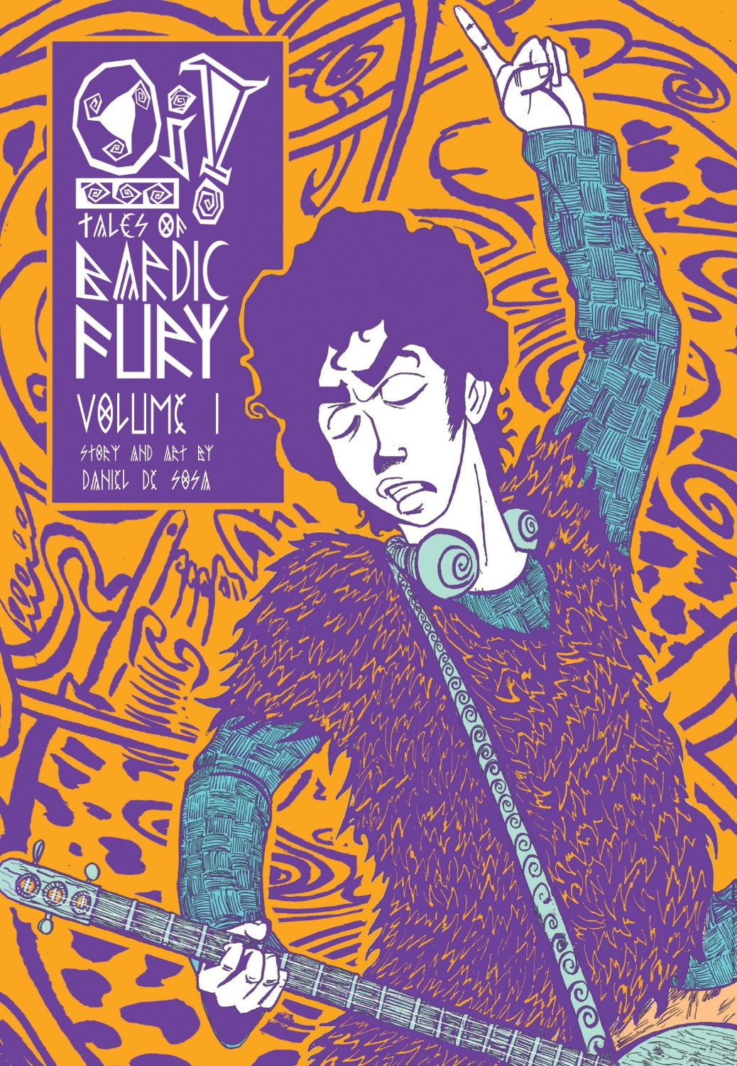 Oi!: Tales of Bardic Fury Volume One - Cover