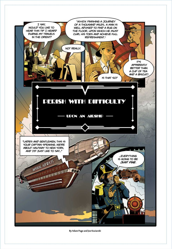 "Professor Elemental #4 - ""Perish With Difficulty"""