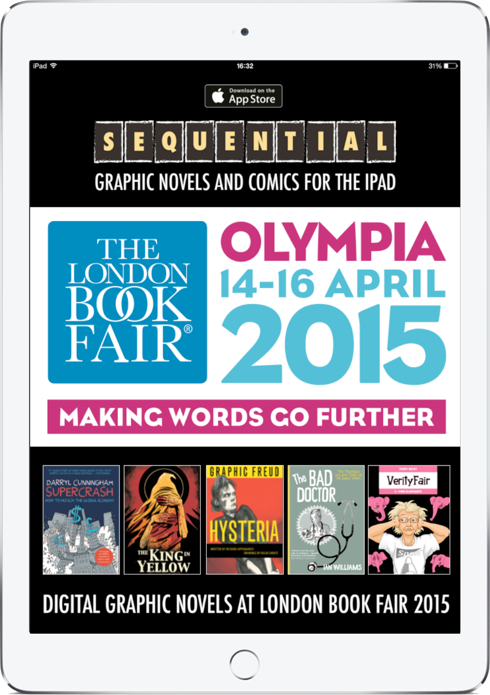SEQUENTIAL London Book Fair Promotion