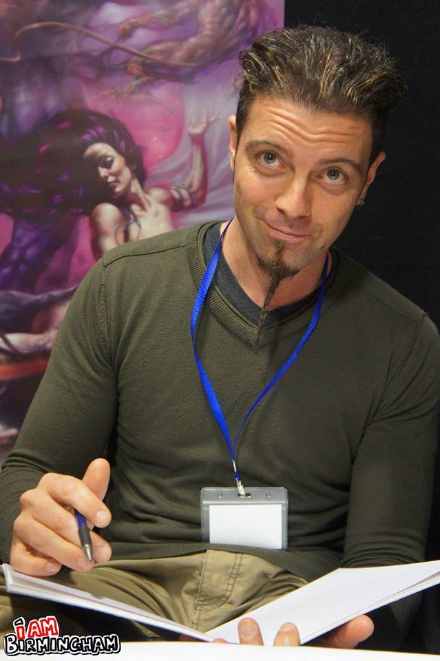 Italian artist Lucio Parrillo